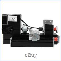 0.07mm Accuracy Metal Lathe Mini High Power 60W for Wood Plastic Processing