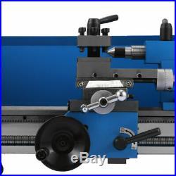 0.75HP 550W 7 x 14 Precision 0.01mm Mini Metal Lathe VariableSpeed RPM 2500