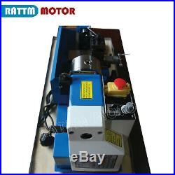 0618 550W Mini Metal Lathe Metal Jade Wood Turing Drilling Machine Benchtop 220V