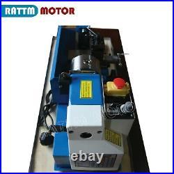 0618 Mini Metal Lathe Machine 550W High-precision 100mm Three-jaw Miliing CNC
