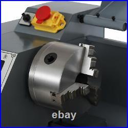 1.5 hp 8x16 2250rpm Mini Lathe Machine w Brushless Motor 3-Jaw Chuck and More