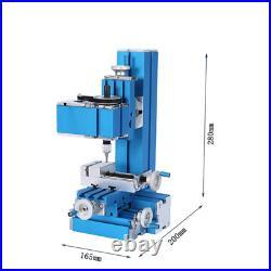 100240V Mini Metal Turning Lathe Machine Motorized Milling DIY Woodworking Tool
