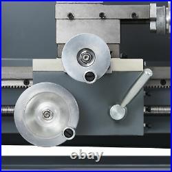 1100W 8x16 Inch 2250rpm Mini Metal Lathe for Turning Cutting Drilling Threading
