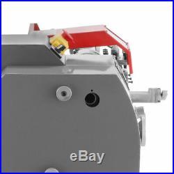 110V 600W 7''×12'' Variable-Speed Mini Metal Lathe Bench Top Digital Top Quality