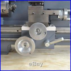 110V 750W Variable-Speed Mini Metal Lathe 8''x16'' Bench Digital Woodworking CNC
