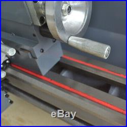 110V 8 x 16 750W Variable-Speed Mini Metal Lathe Bench Top Digital Top Quality