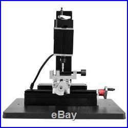 12000rpm 60W Metal Mini Lathe DIY Micro Milling Machine Millier 100-240V
