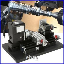 12V 24W Miniature CNC Metal Multifunction Mini Lathe Machine Lifetime Warranty