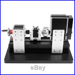 12V DC/5A/60W High Power Mini Metal Lathe Metalworking Woodworking DIY Model xi