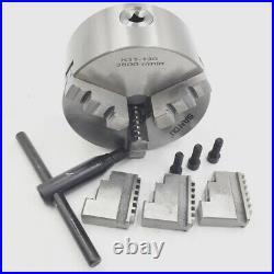 130mm Lathe Chuck 3jaw K11 Self-centering Metalworking Clamping Mini Metal Lathe