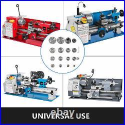 17Pcs Mini Lathe Metal Cutting Machine Tool Set Exchange Gears Lathe Machine