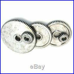 17Pcs/Set Mini Lathe Gears, Metal Cutting Machine Gears, Lathe Gears