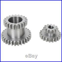 18Pcs/Set CJ0618 Metal Gears Mini Lathe Gear Metal Cutting Machine Tool Ge O1H2