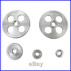 18Pcs/Set CJ0618 Metal Gears Mini Lathe Gear Metal Cutting Machine Tool Gea A4V3