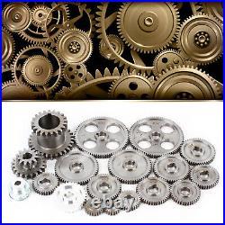 18pcs/set Mini Lathe Gears CJ 0618 Metal Cutting Machine Gears Lathe CJ0618