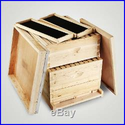 20-Frame Langstroth Bee Hive Complete Box Kit Free Shipping