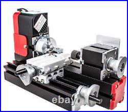 20000r/min Miniature Multifunction DIY Metal Motorized Mini Lathe Machine