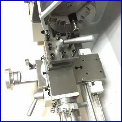 220V Mini Metal Lathe 750W Variable Speed Lathe Machine Jade Screw Steel Proce s