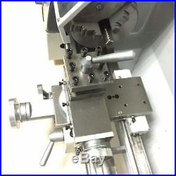 220V Mini Metal Lathe 750W Variable Speed Lathe Machine Jade Screw Steel Process