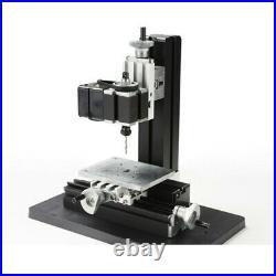 24W High Power Metal Mini Lathe DIY Micro Drilling Machine Wood Driller 20000rpm