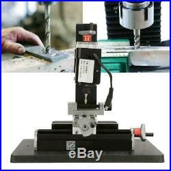 24W Mini Metal Lathe Milling Machine 100-240V for Processing Wood