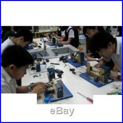 24W Mini Metal Wood-turning Lathe Woodworking Machine DIY Model Power Tool New