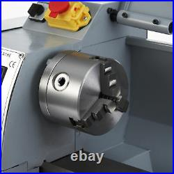 2500rpm Mini Metal Lathe w 600W Brushed Motor for Woodworking More 8x14 Inch