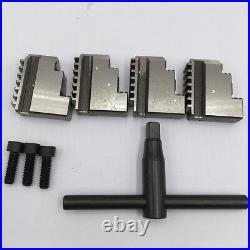 4-jaw Self Centering 200MM K12 Lathe Chuck 8 CNC Mini Metal Lathe Accessory