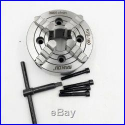 4Jaw Independent Reversible Metal Lathe Chuck 160MM 4-jaw Mini Chuck CNC Milling