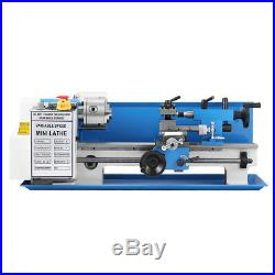 550W 2500rmp High Precision Mini Metal Milling Lathe with Variable Speed 7x14