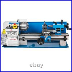 550W 7\X14\ Precision Mini Metal Lathe withLamp 50-2500RPM Durable Drilling