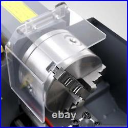 550W 7 x 14Mini Metal Lathe Machine Variable Speed 2250 RPM DC Motor Iron Body
