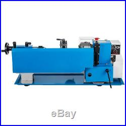 550W 7X12 Precision Mini Metal Lathe withLamp Woodworking Milling Metalworking