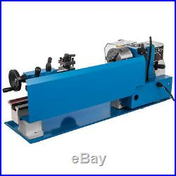 550W 7X14 Precision Mini Metal Lathe withLamp Milling Professional Woodworking
