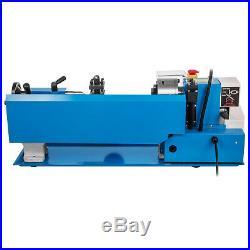 550W 7X14 Precision Mini Metal Lathe withLamp Nylon Gears Infinitely Variable