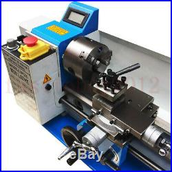 550W Metalldrehbank Tischdrehbank Mini Metal Lathe 7x14 for Metal Iron Copper