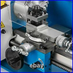 550W Mini Metal Rotating Lathe 2500r/min Motor Precision Metalworking Benchtops