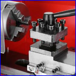 550W Mini high-Precision DIY Shop Benchtop Metal Lathe Woodworking Lathe