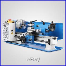 550W Precision Mini Metal Lathe Metalworking Drilling Woodworking 2500RPM GREAT