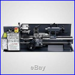 550W Upgraded Mini Metal Lathe Machine Bed Variable Speed Woodworking Tool