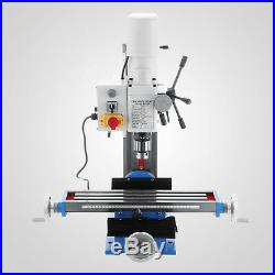 550W Variable Speed Mini Milling Drilling Machine Vertical Mt3 Metal Lathe