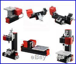 6 In 1 DIY Tool Mini Multipurpose Metal Material Machine /Wood Lathe Modelmakin