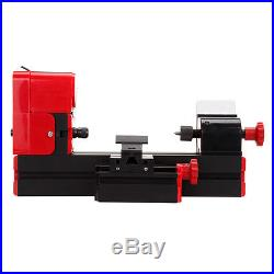 6 In 1 Metal Mini Motorized Lathe Machine Woodworking DIY Tool Hobby Modelmaking
