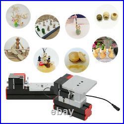 6 In 1 Mini Metal Lathe Tool Jigsaw Milling Lathe Drilling Sanding Machine X4B1