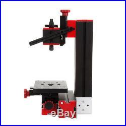 6 in 1 DIY Mini Wood Metal Motorized Lathe Machine Drilling Milling Sanding