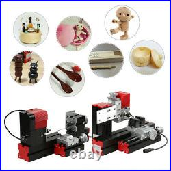 6 in 1 Mini Multipurpose Machine Wood Metal Lathe Milling Driller DIY Tool Q4E8
