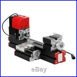 6 in 1 Mini Wood Metal Motorized Jigsaw Lathe Machine Woodworking Hobby DIY Tool