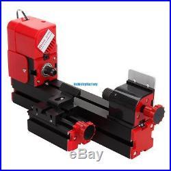 6 in1 DIY Mini Drilling Milling Grinder Sawing Metal Lathe Machine Multifunction