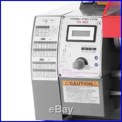 600W Automatic Mini Lathe Machine Metal Turning Metal Wood Drilling 7''×12'