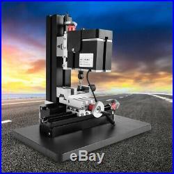 60W 12000RPM Mini Metal Lathe DIY Miniature Milling Machine Miller 100-240V